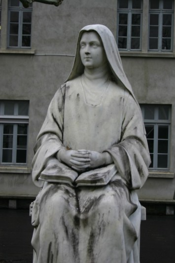 St. Bernadette of Lourdes (photo by Lori Erickson)