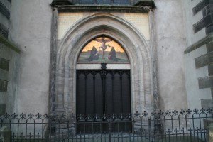 95 Theses Door in Germany & Wittenberg - Spiritual Travels