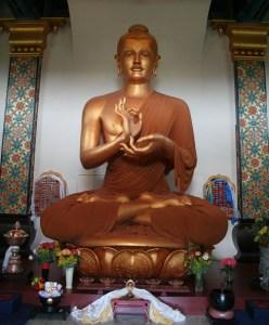 Inside the Great Stupa of Dharmakaya