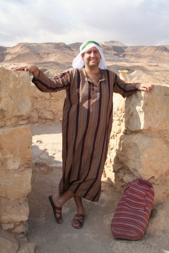 man in Biblical costume