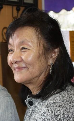 Kunyan Norbu, sister-in-law of the Dalai Lama (Lori Erickson photo)