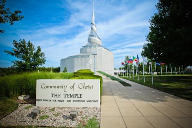 Community of Christ Temple in Independence, MIssouri (photo by Independence MO Tourism)