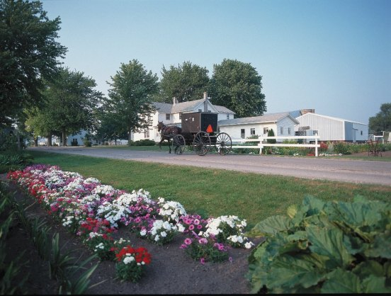 Northern Indiana is one of the best places in the country to learn about Amish and Mennonite traditions. (photo by Elkhart County CVB)