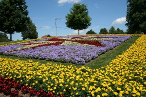 Quilt Garden in northern Indiana (photo by Elkhart County CVB)