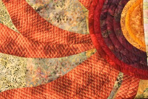 Detail from quilt at Quilt Designs in Goshen (Bob Sessions photo)