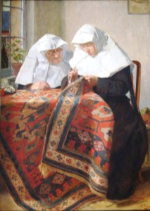 A painting of Beguines by the Belgian artist  Louis Tytgadt (Wikimedia Commons image)