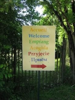 Many languages are spoken at Taizé. (Jason Hill photo)