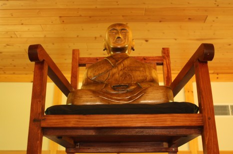 Ryumonji welcomes everyone interested in learning about the teachings of the Buddha. (Lori Erickson photo)