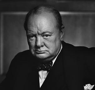 Churchill's speech at Westminster College made headlines around the world.