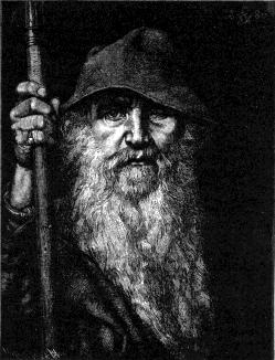 The god Odin gave up one eye in return for wisdom. (Wikimedia Commons image)