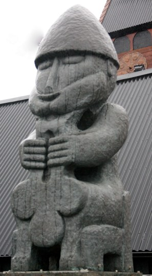 This statue of Thor in Reykjavik is modeled after a bronze figure dating from the year 1000. (Bob Sessions photo)