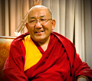 Arjia Rinpoche is director of the Tibetan Mongolian Buddhist Cultural Center in Bloomington, Indiana (photo by TMBCC)