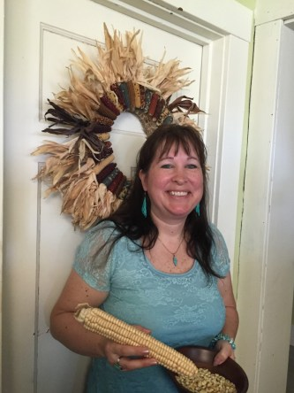 Jeanette Miller is program director for the Iroquois White Corn Project. (photo by Bob Sessions)