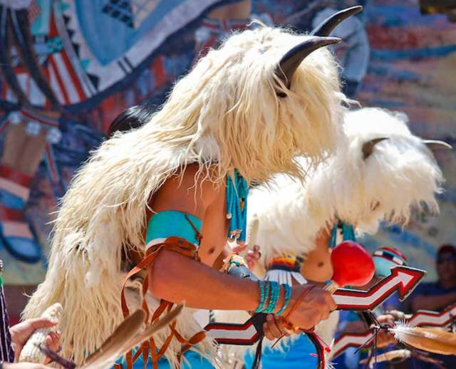 Albuquerque's Indian Pueblo Cultural Center has traditional dancing each Saturday and Sunday. (Photo used with permission of IPCC.)