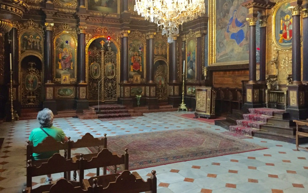 Holy Trinity Greek Orthodox Church in Vienna was a good place simply to sit, look, and be. (Bob Sessions photo)
