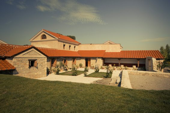 A reconstructed villa at Carnuntum shows the lifestyle enjoyed by a wealthy Roman citizen. (photo used with permission of Carnuntum, (c) Atelier Olschinsky)