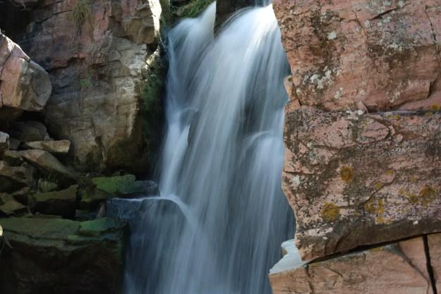 Winnewissa Falls at Pipestone National Monument (Bob Sessions photo)