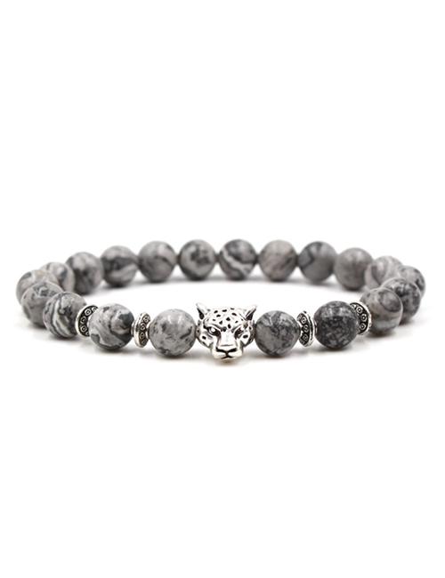 Boeddistische-Natuursteen-tijgerkop-armband
