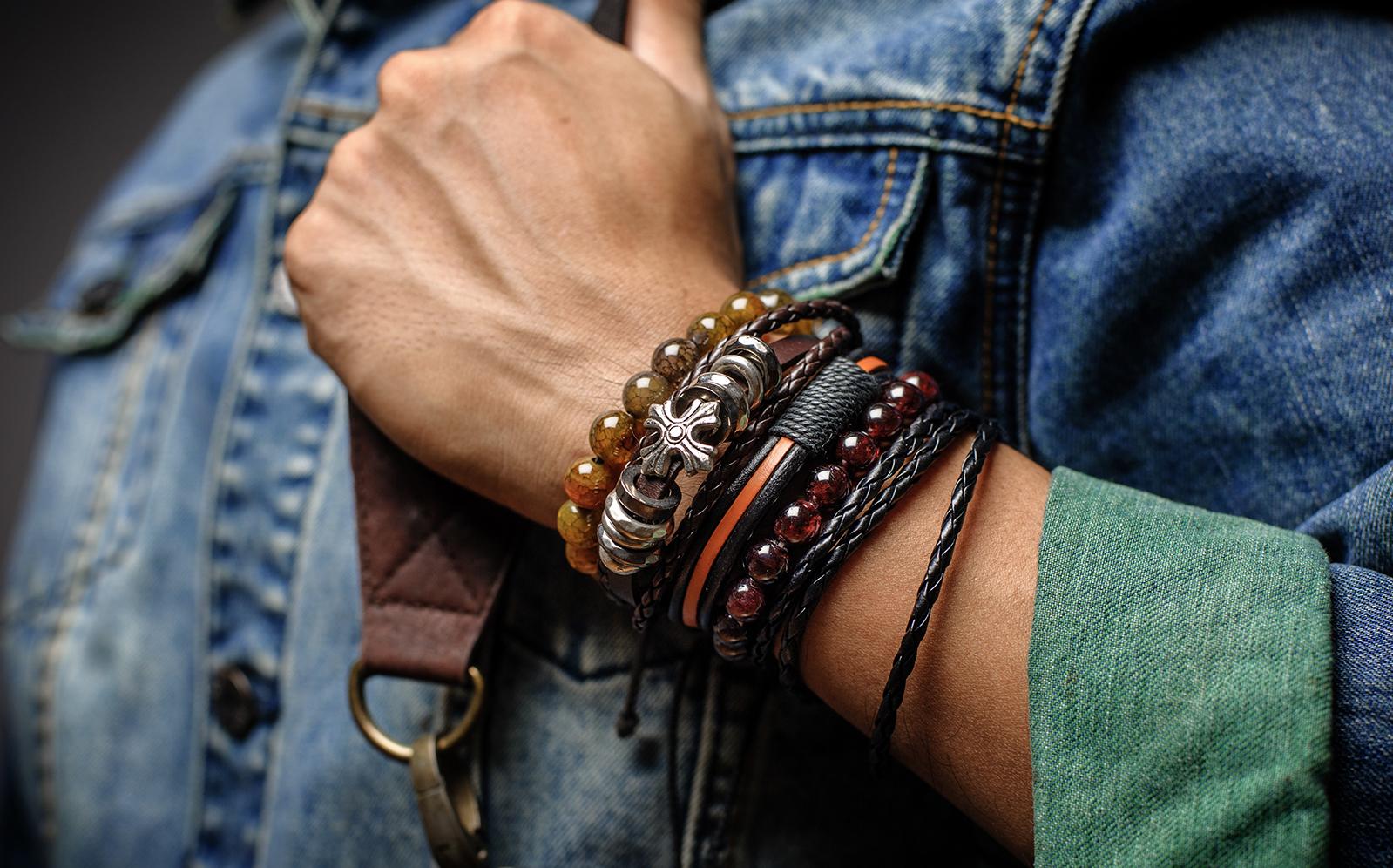Spirituele armbanden voor heren