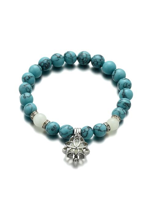 Lichtgevende Lotus armband
