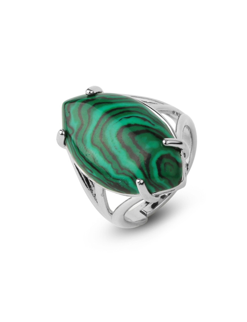 Malachiet ring groen