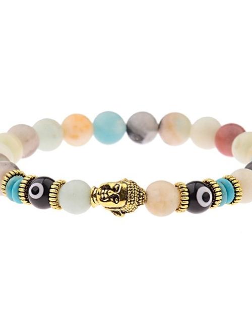 Boeddhistische Oog van Nazar armband