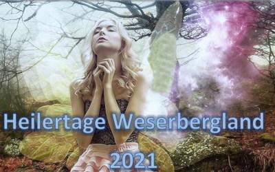 Besuche uns an den Heilertagen im Weserbergland 14./15. August 2021