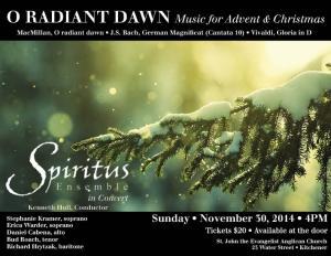 Spiritus O Radiant Dawn