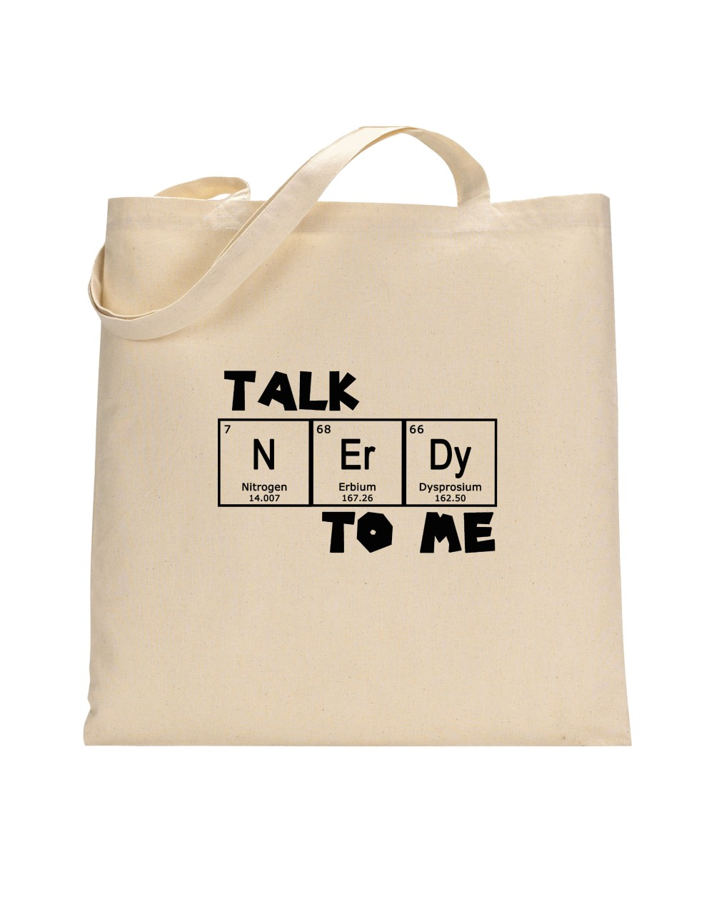 Talk Nerdy To Me Tote Bag / Market Bag / Reusable environmentally friendly Chemical Structure of Seratonin Elements Ecobag Eco Bag