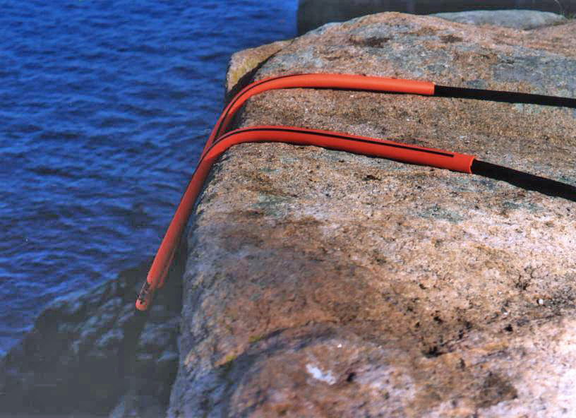 rope protector on sharp edge