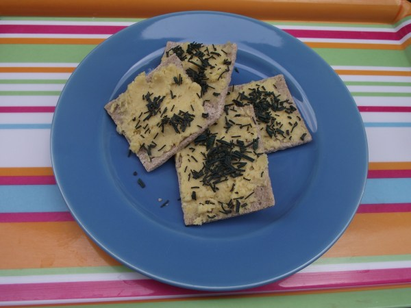 Toasts d'houmous