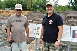 Разкопките на Акве Калиде от РИМ Бургас се правят с металотърсачи Fisher F75