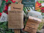 Frøposer til kjøkkenhagen