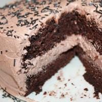 Nydelig, saftig enkel å lage sjokoladekake