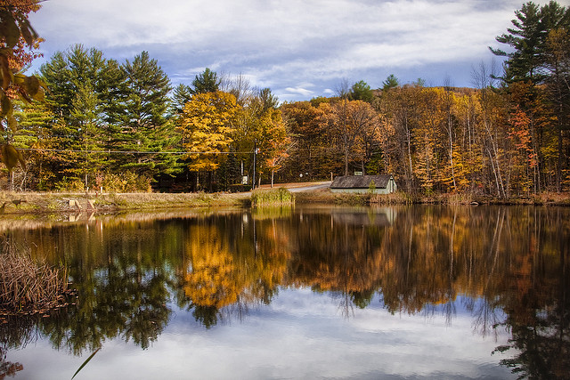 Autumn in New Hampshire. (Image courtesy Werner Kunz via Flickr.)