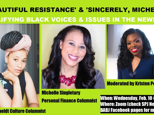 Amplifying Black Voices, Issues in the Newsroom with Jeneé Osterheldt and Michelle Singletary