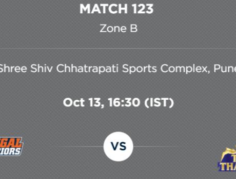 PKL5 Match 123 preview: Bengal Warriors v Tamil Thalaivas