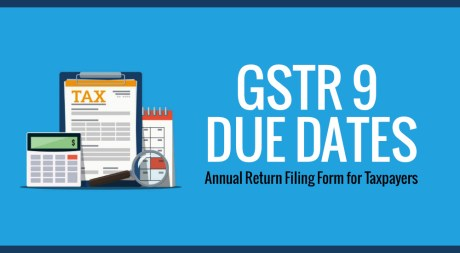 GSTR 9 ANNUAL RETURN FILING DUE DATE