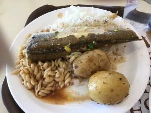 Qumran lunch