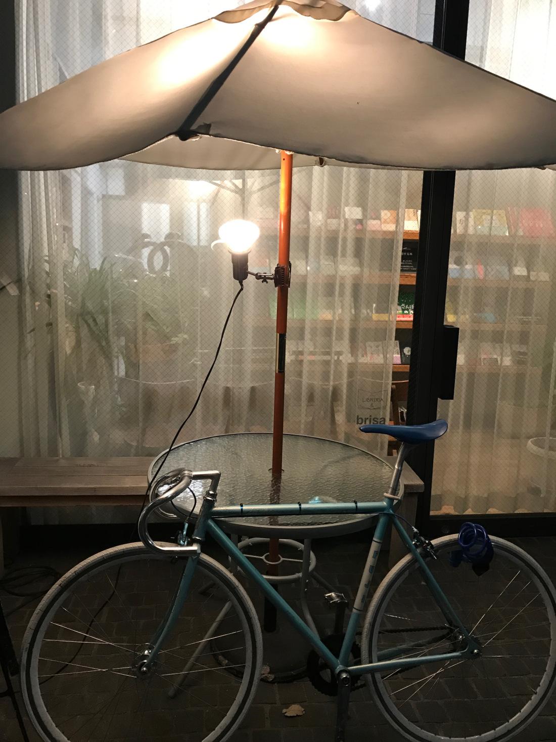 tokyoumbrellaandbike