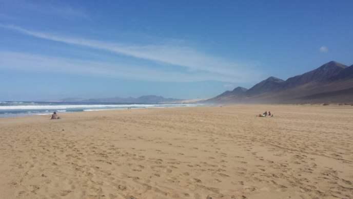 Cofete Beach, Morro Jable, Fuerteventura
