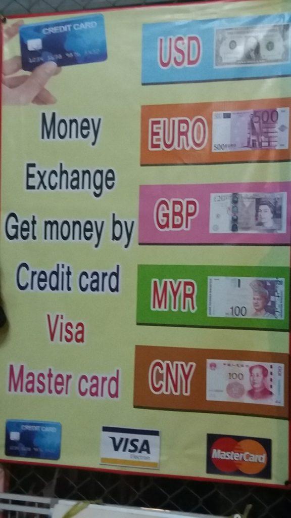Geld wisselen op Koh Mook