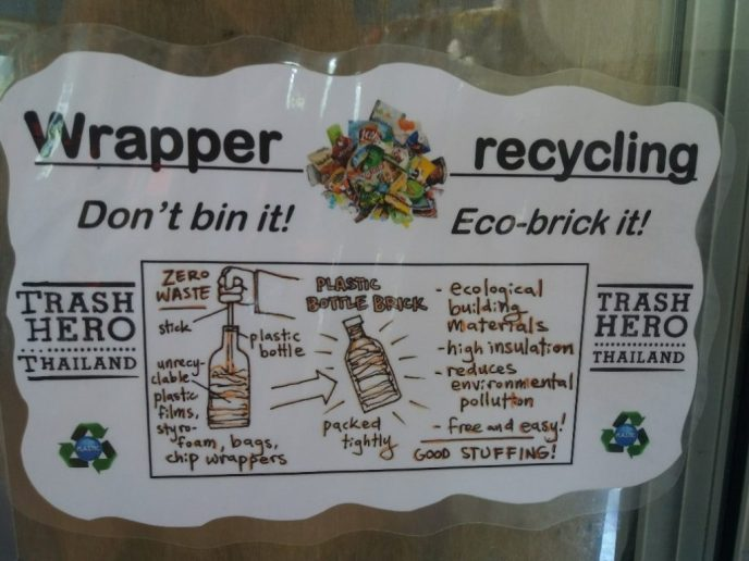 Don´t bin it, Eco-brick it
