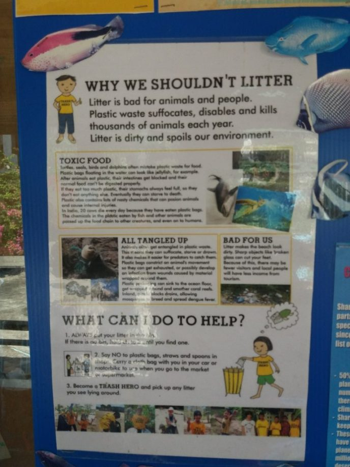 Why we shouldn´t litter