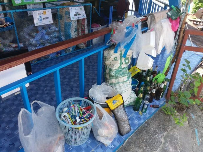 Recycle Station at Blue View Divers