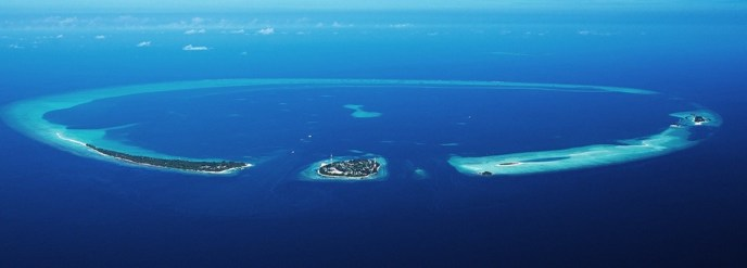 Alif Alfi Atoll on the Maldives, where Rasdhoo is located