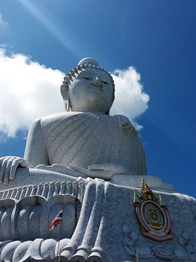 White Big Buddha on Phuket Island