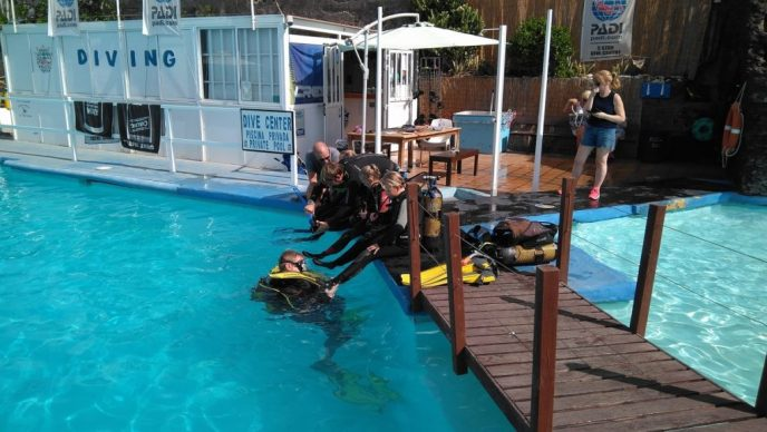 Dive Academy dive center on Gran Canaria