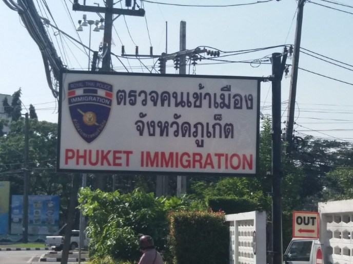 Phuket Immigratie in Thailand