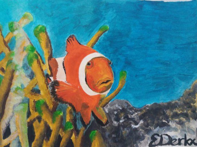 Painting Clownfish